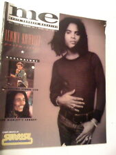 Me Music Express Magazine May 1991 Issue 15 Issue 159 Lenny Kravitz Bob Marley