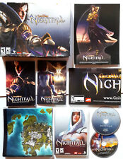 Guild Wars Nightfall Collector's Edition (PC, DVD, 2006) VIDEO GAME ORIGINAL