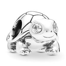 PANDORA Schmuck Silber Charm Bright-Eyed Turtle 797878CZ