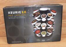 Genuine Keurig 2.0 NEO Carousel / K-Cup & K-Carafe Beverage Pod Storage **READ**