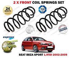 Para SEAT IBIZA SPORT 1.9 TDI 6L1 2002-11/2009 nuevo 2 X Bobina delantera Juego De Muelles
