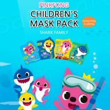 Pinkfong Shark Family Kids` Mask Children pack Safe ingredient 20 ml x 4 p KOREA