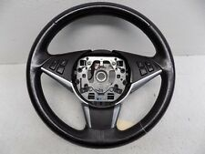 2008-2010 BMW 535i 550i BLACK LEATHER DRIVER STEERING WHEEL OEM