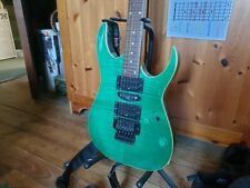 More details for ibanez rg470 green goblin! upgraded to black fr 27 years old forced sale