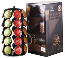 35 Taza de Café Pod Dolce Gusto K torre de almacenamiento Organizador Soporte vainas Rack Negro