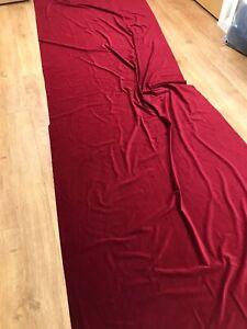 Designers Guild 'Velluto- Cranberry' velvet fabric 97x300cm