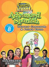 Standard Deviants School - Advanced Spanish, Program 8 - Informal Com Ex-Library
