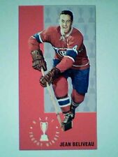 JEAN BELIVEAU  '64-65 PARKHURST TALL BOYS TROPHY WINNER INSERT CARD 1 OF 1964