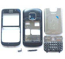 Black Cover Housing Fascia Case Nokia E5-00+Keypad+Tool