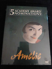 NEW SEALED Amelie (2001) 2-disc set with special features