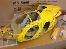 FUNKEY Scale fuselage Hughes MD500E .60-90 (700 )size YELLOW Color