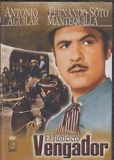 EL JUSTICIERO VENGADOR (1962) ANTONIO AGUILAR NEW DVD