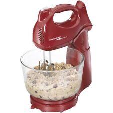 Hamilton Beach Power Deluxe 4 Quart Stand Cake Food Mixer Kitchen Appliance