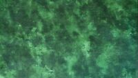 "Fat Quarter- Green, Moda Fabrics, 20"" x 22"", New!"