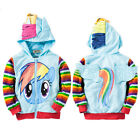 bébé fille MY LITTLE PONY Sweat à capuche dessin animé mignon