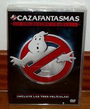 CAZAFANTASMAS LA COLECCION COMPLETA 3 DVD NUEVO PRECINTADO ACCION (SIN ABRIR) R2