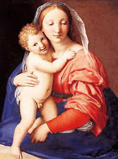 MARY WITH CHILD  - 3D FLIP PICTURE 300mm X 420mm