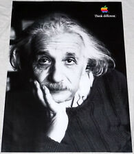"APPLE Think different poster Albert Einstein approx 28""/20"" mint rolled shipping"