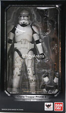 S.H. Figuarts Clone Trooper Phase II Star Wars Episode III Figure USA Seller