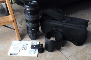 Nikon AFS 70-200mm VR lens for Nikon D200,300,600,700,800,850,750,880