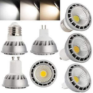 Ultra Bright Dimmable LED Spotlight E27/E26/GU10/MR16 15W COB Bulb CREE Lamps