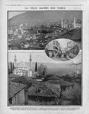 Bursa Pruse Brousse Anatolie Turquie Ottoman Empire Turkey/SPAD Avions 1915 WWI
