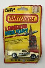 1981 Matchbox London Holiday No 60 CHEVY EL CAMINO -Damaged Card- Superbike