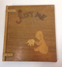"Vintage/Antique PASADENA WOOD & METALCRAFT Baby ""Just Me"" Album Rare"