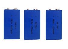3 x ER9V Block(1200mAh)Lithium Langzeitbatterie Rauchmelder (3 Batterien)