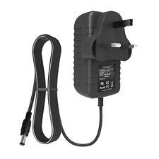 9V 1A AC/DC Adapter UK Plug Power Supply Mains 2.1mm x 5.5mm / 2.5mm x 5.5mm
