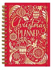 Rachel Ellen 5 Year Christmas Planner Book - Recipes, Cards, Presents Sections