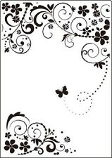 "Crafts Too Embossing Folder 5""x 7"" - SUMMER DAYS - CTFD3101"