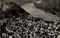 Andernach am Rhein s/w Postkarte 1956 gelaufen Gesamtansicht Schöning Luftbild