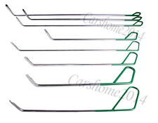 PDR Whale Tail Set Auto Body Tools Paintless Dent Repair Ding Hail Removal 8pc