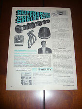 SHELBY PARTS SUPER SNAKE DON PRUDHOMME  - ORIGINAL 1969 AD