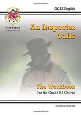 New Grade 9-1 GCSE English - An Inspector Calls Workbook (includes Answers) (C,