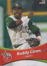 2016 Fort Wayne Tin Caps Ruddy Giron RC Rookie Padres Minor