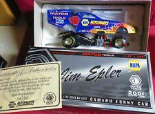 JIM EPLER 1/24 2001 RC--MATCO TOOLS CAMARO FUNNY CAR, NAPA WITH FLAMES