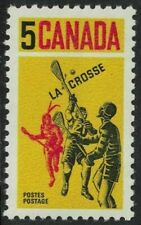 canada stamps - 1968 - Lacrosse - 5c - sg625 Mint NH