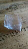 20x Minidisc Jewel Case Rigid Clear Plastic Brand New FREE DELIVERY IN THE U.K.