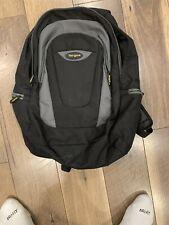 """Targus Trek Comfort Backpack For 16"""" Laptop Black Gray TSB193US-70 EUC"""