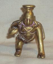 Traditional Indian Bronze Statue God Krishna Crawling