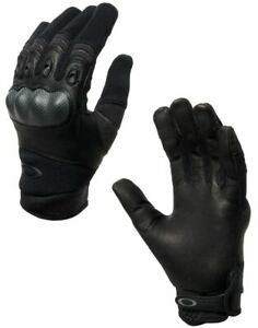 Oakley Factory Pilot Tactical Gloves, Black & Coyote, All Sizes - 94025A