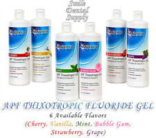 Apf Thixotropic Fluoride Gel 6 Different Flavors By Mark 3