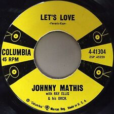 Johnny Mathis 45 Let's Love / You Are Beautiful