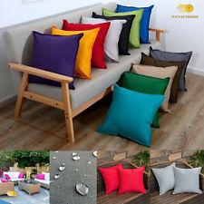Plain Waterproof Garden Furniture Seat Chair Indoor Outdoor Cushion Covers New