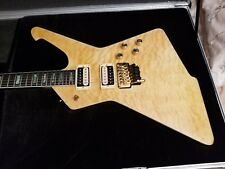 Custom Halo Destroyer/Iceman guitar w/Floyd Rose, D-Tuna, locking tuners & case!