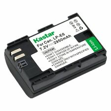 Kastar LP-E6 Battery for Canon EOS 5DS, 5DS R, 5D Mark II,5D Mark III,5D Mark IV