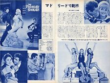 ANN MARGRET CAROL LYNLEY PAMELA TIFFIN Pleasure Seekers 1965 JPN Clippings #FF/U