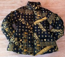 YOUNG VERSACE GIRL BAROQUE DOWN PUFFER COAT NWOT SIZE 8A